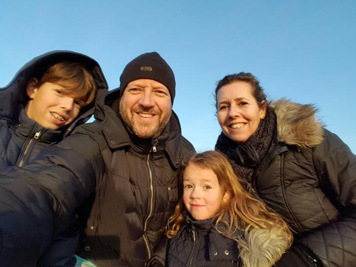 familieliefde selfie