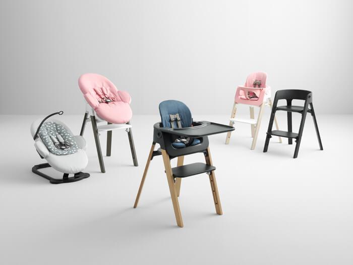 stokke steps kinderstoel comfort en design kunnen prima samen gaan. Black Bedroom Furniture Sets. Home Design Ideas