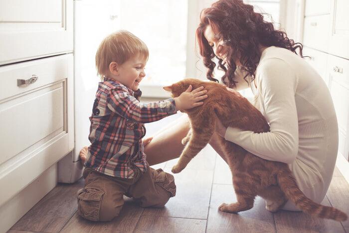 huisdieren en kinderen