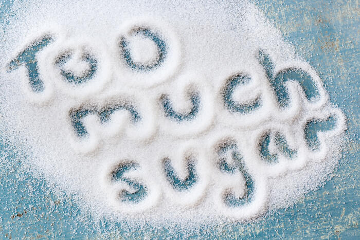 suikervrij eten of minder suiker eten