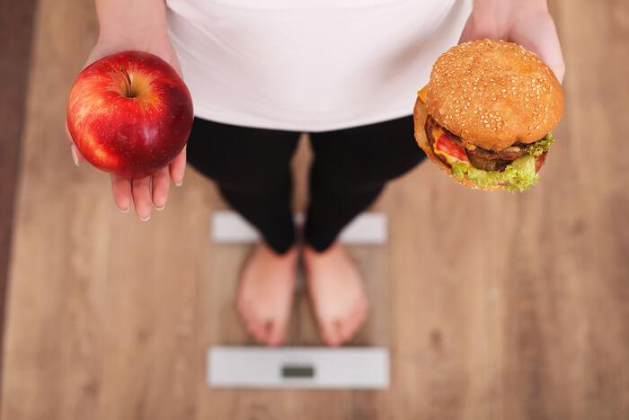 koolhydraatarm eten en afvallen