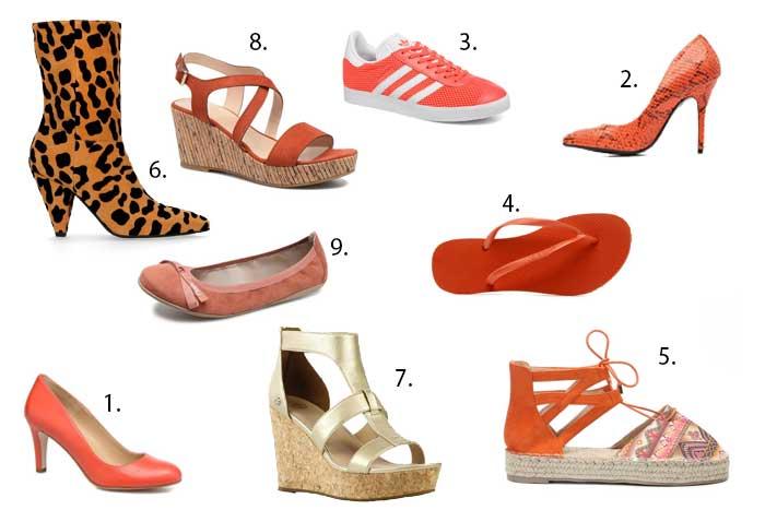 koningsdag schoenen oranje