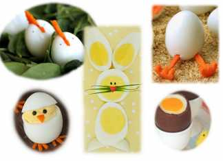 gekookte eieren, 5 tips