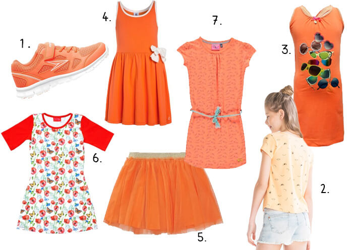 Koningsdag kleding meisjes