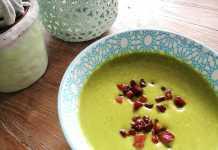 recept broccolisoep met spekjes