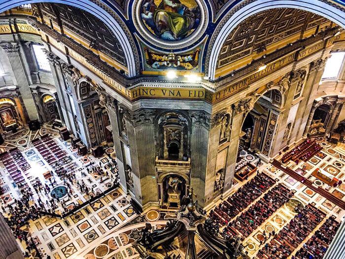 stedentrip Rome, sint pieter basiliek