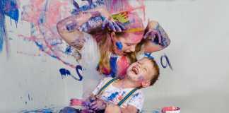 type moeder, creatief
