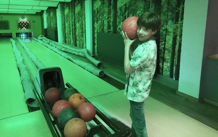 vakantiepark dierenbos Vinkel, het bowlen