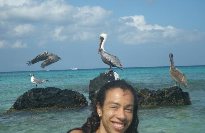 wonen op Aruba, stranddag
