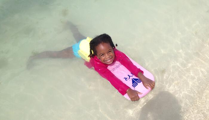 wonen op aruba en zwemles