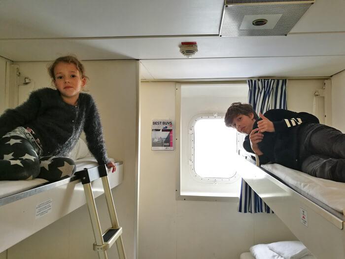 3 daagse minicruise met de DFDS hut