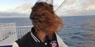 dfds seaways op het dek