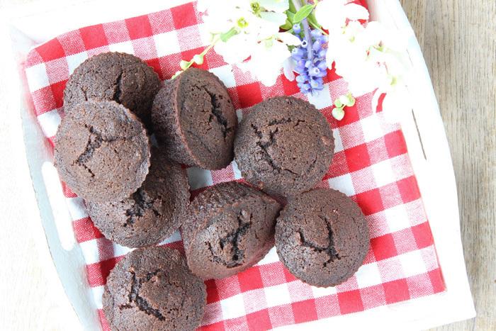 glutenvrij recept chocolade muffins