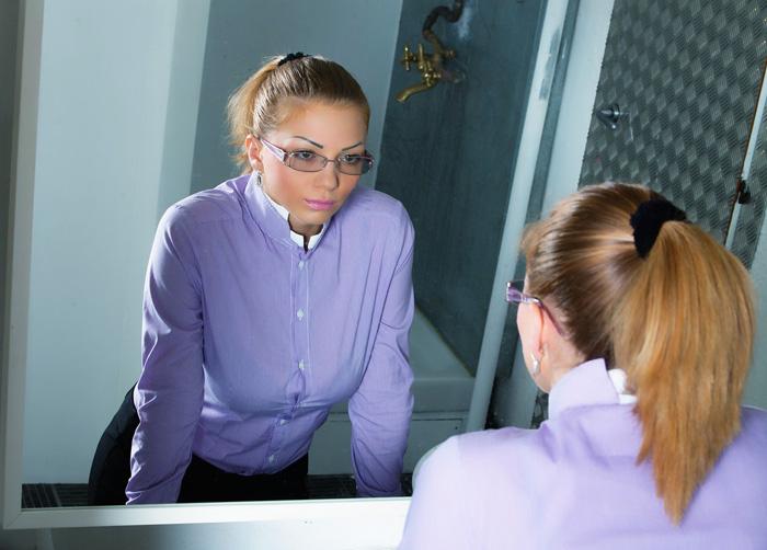 jezelf een spiegel voorhouden