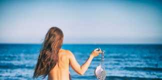 topless zonnen