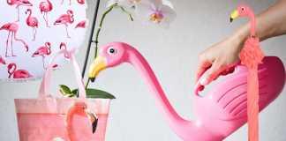 de roze flamingo producten