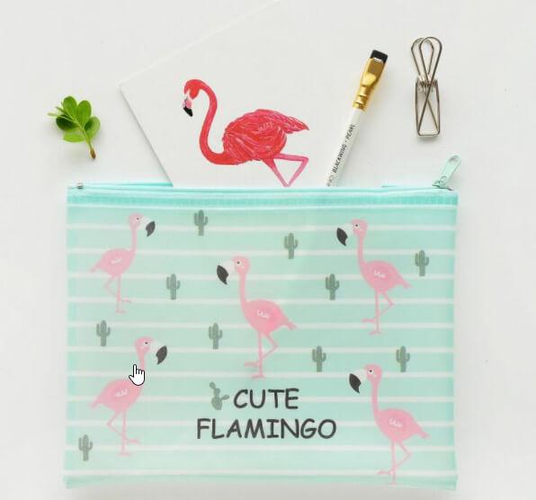 de roze flamingo