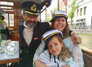 kapitein iglo selfie