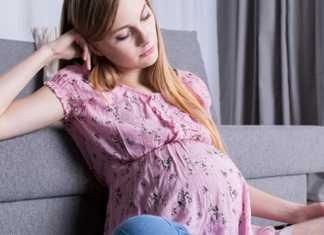 voor het eerst zwanger