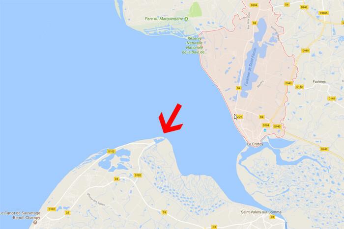 Baai van de Somm, le Hourdel