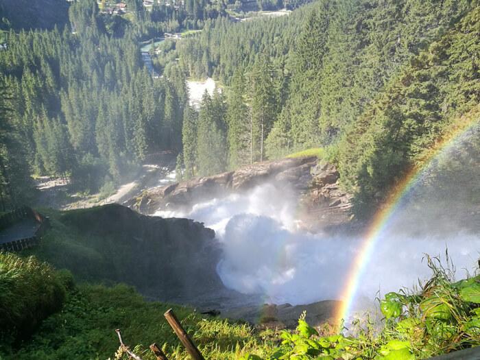 krimml watervallen oostenrijk