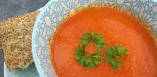 recept paprikasoep met tomaten