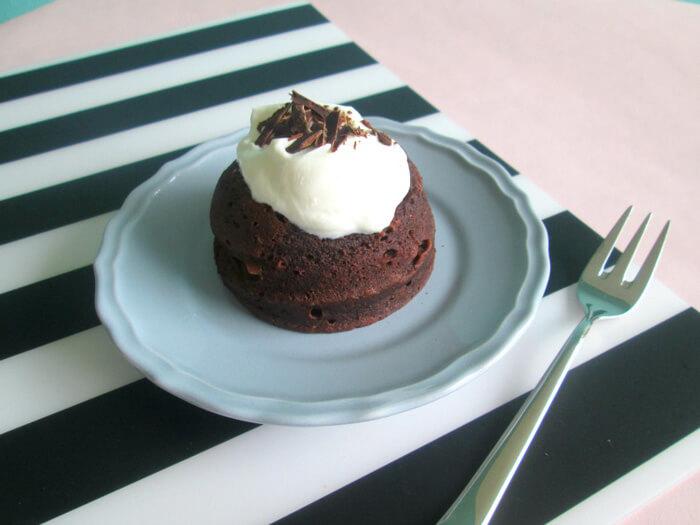 chocolade mug cake recept