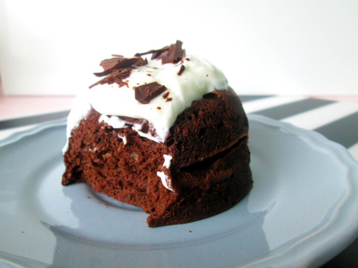 gezonde chocolade mug cake recept