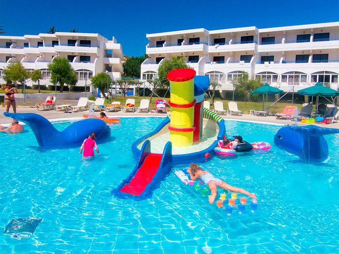 griekenland met kinderen, cyprotel faliraki hotel rhodos