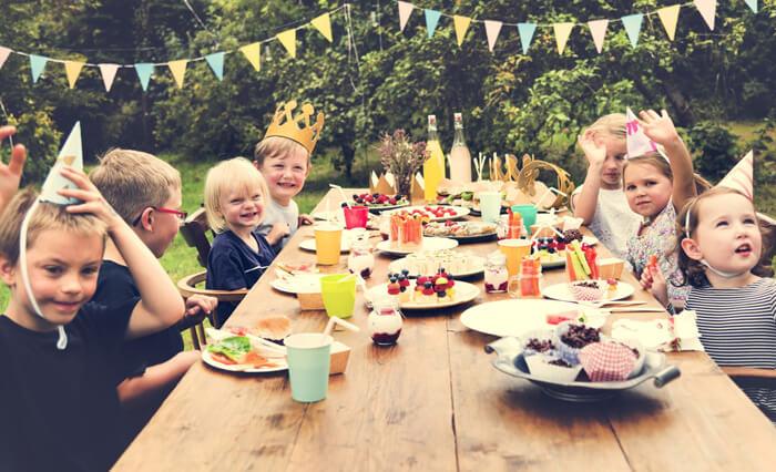 kinderfeestje vieren