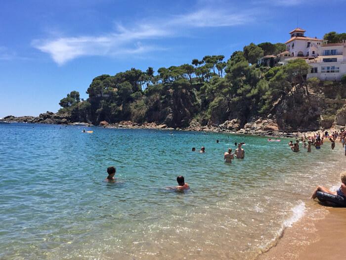 mooiste stranden costa brava llafranc