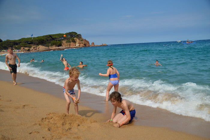 mooiste stranden costa brava platja 's Agaro