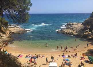 mooiste stranden costa brava sa cova