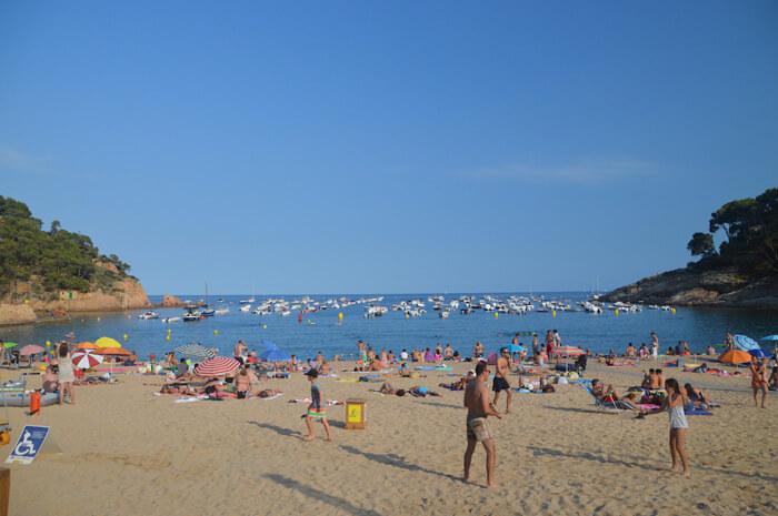 mooiste stranden costa brava tamariu