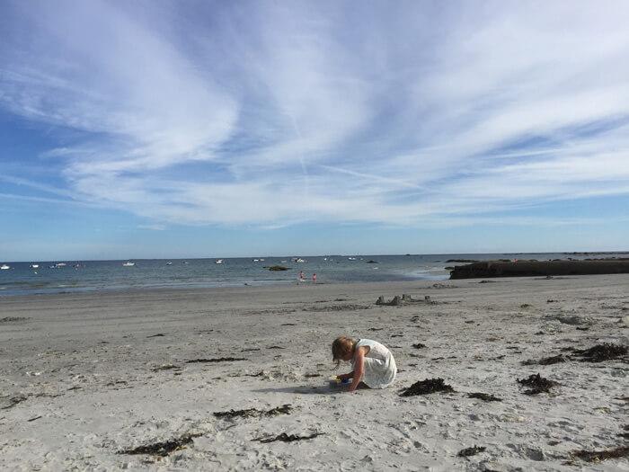 strand Bretagne Frankrijk