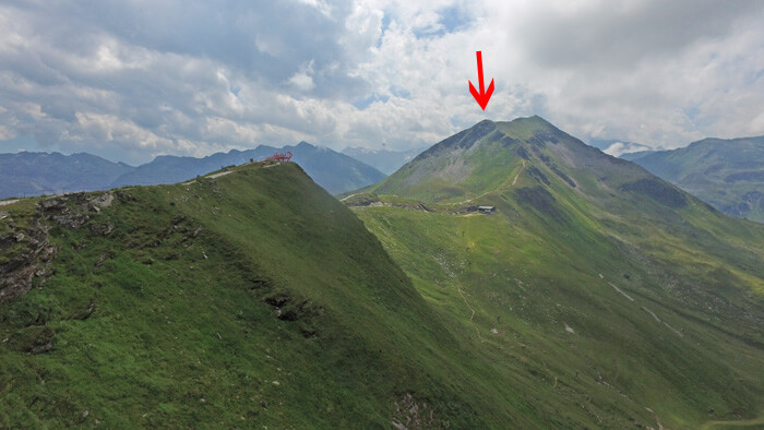 stubnerkogel route bergtop