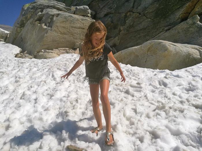weissee gletcher sneeuw en Lotte