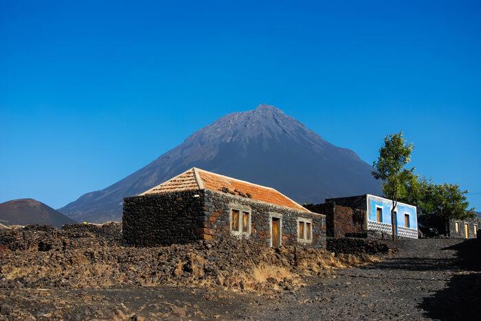 kaapverdie met kinderen, Fogo vulkaan