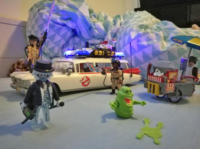 playmobil ghostbusters spoken verjagen