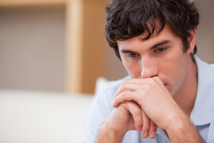 postnatale depressie man