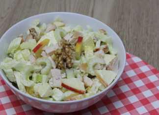 waldorfsalade recept