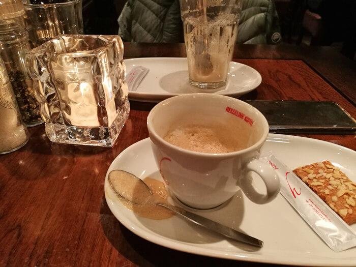 cappuccino op