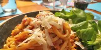 pasta puttanesca met ansjovis