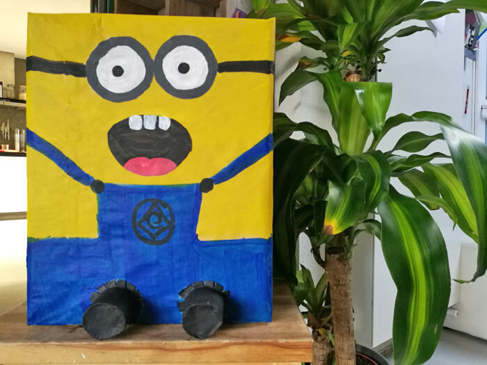 minion surprise maken