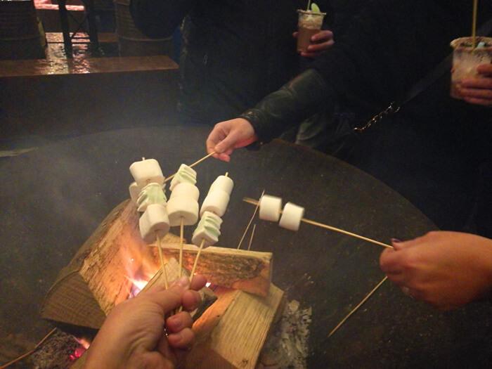 allerhande kerstfestival marshmallows roosteren