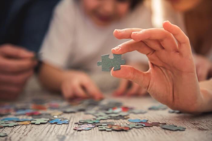 legpuzzels maken voor kinderen