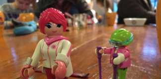 playmobil wintersport skier