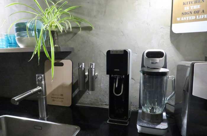 review sodastream bruiswater