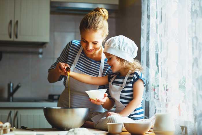 kinder kookgerei en kookspullen