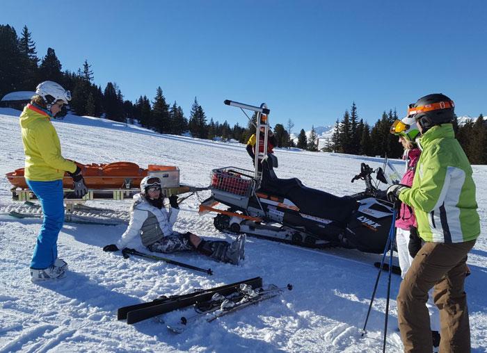 kruisband gescheurd skien